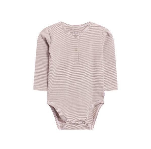 Bilde av Hust & Claire stripete Bello body til baby,