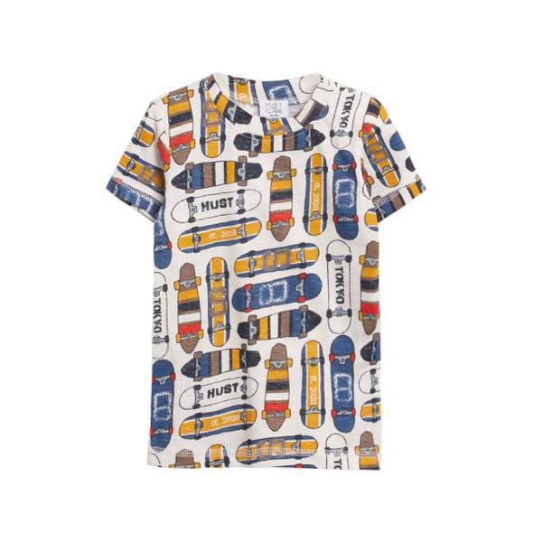 Bilde av Hust & Claire t-skjorte til barn med skateboard