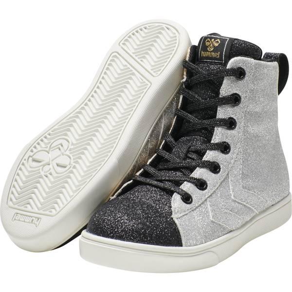 Bilde av Hummel Stada multi glitter sko til barn, sølv og