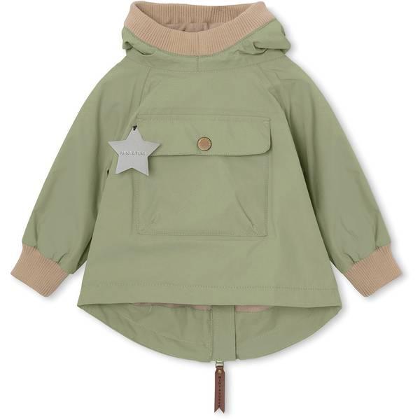 Bilde av Mini A Ture Baby Vito anorakk m/fleece, Oil green
