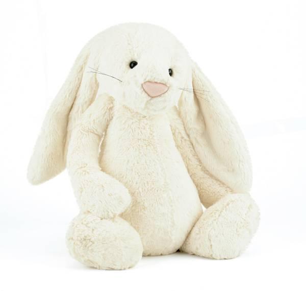 Bilde av Jellycat Bashful kanin bamse 31 cm, cream