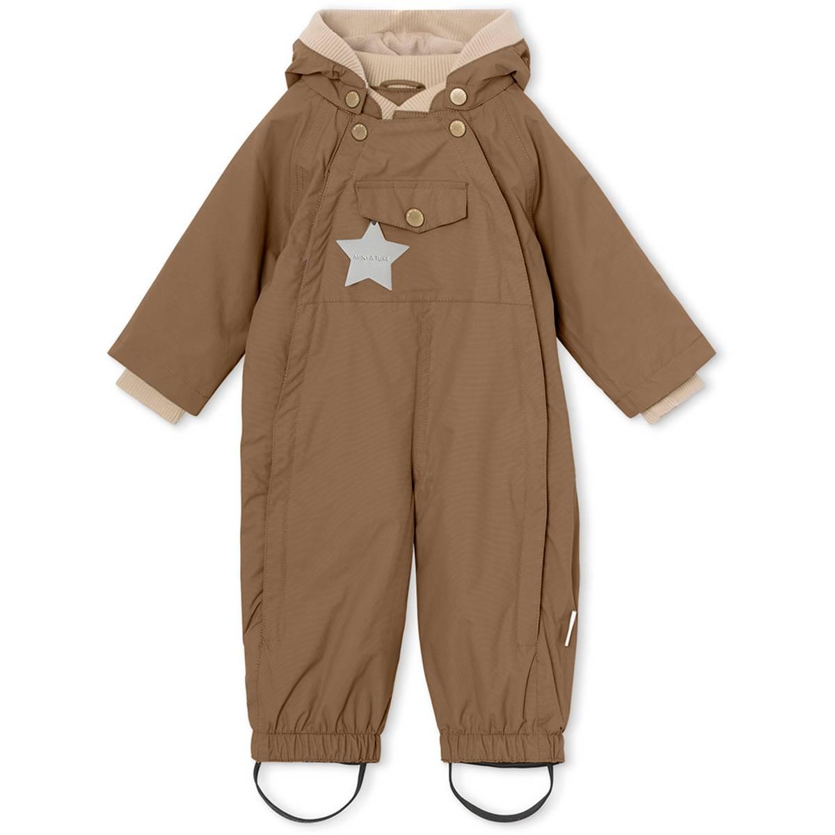 Mini A Ture parkdress / vårdress til barn, wood