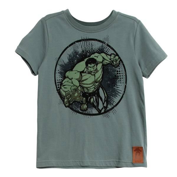 Bilde av Wheat t-skjorte til barn med hulken, petroleum