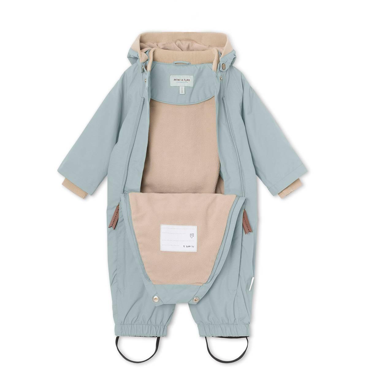 Mini A Ture parkdress / vårdress til barn, Slate Blue