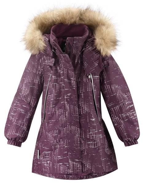 Bilde av Reima refleks vinterjakke Silda, deep purple