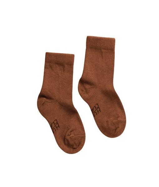 Bilde av Hust & Claire sokker i ull og bambus, Cognac