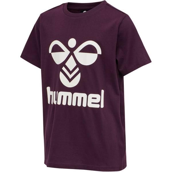 Bilde av Hummel tres t-skjorte til barn, blackberry wine