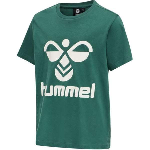 Bilde av Hummel tres t-skjorte til barn, Mallard green