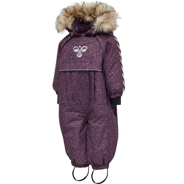 Bilde av Hummel Moon vinterdress til små barn, Blackberry