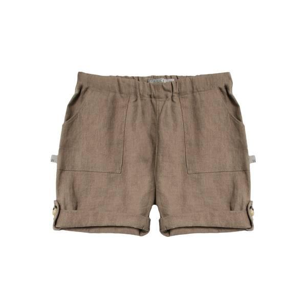 Bilde av Wheat shorts i lin til baby, cashew