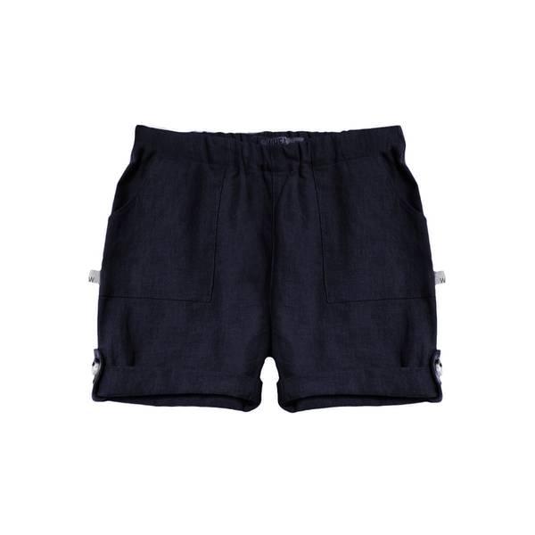Bilde av Wheat shorts i lin til baby, ink