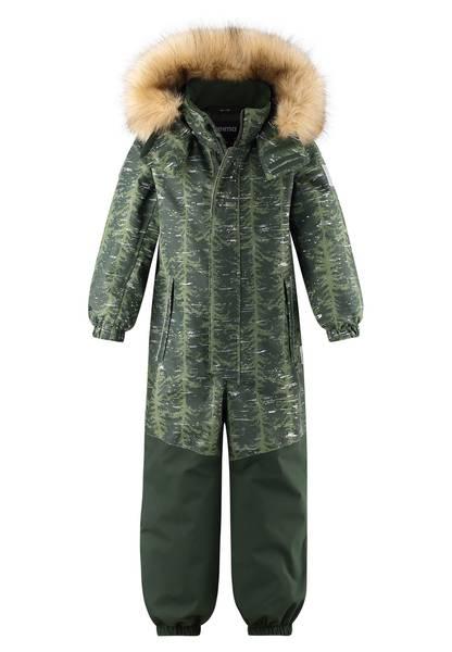 Bilde av Reimatec Bergen vinterdress til barn, Dark green