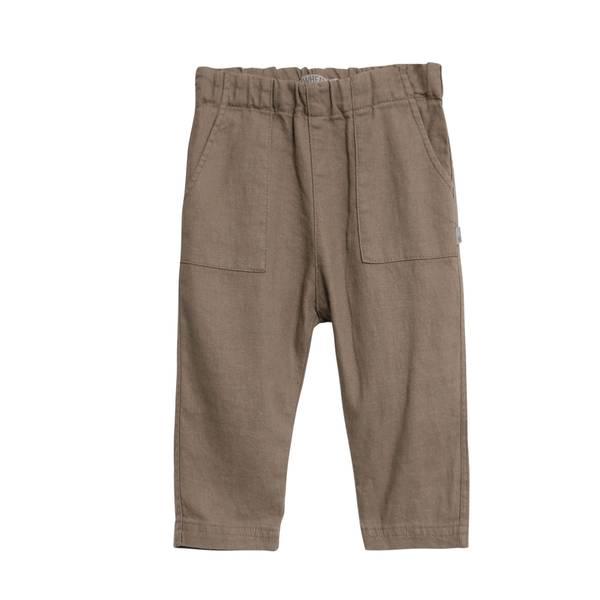 Bilde av Wheat bukse i lin til baby, casehw