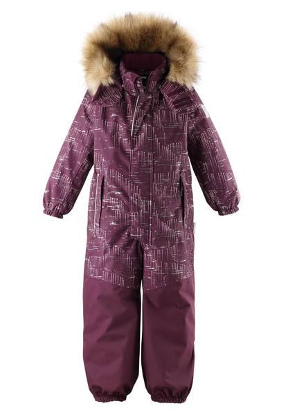 Bilde av Reimatec Bergen vinterdress til barn, Deep purple