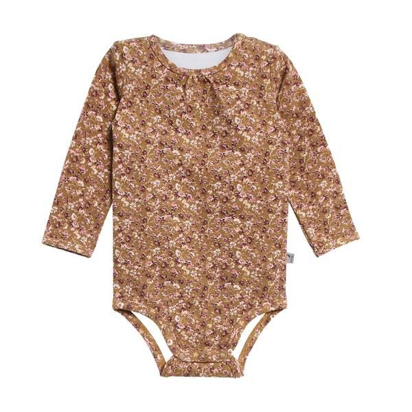Bilde av Wheat liv body til baby og små barn, caramel