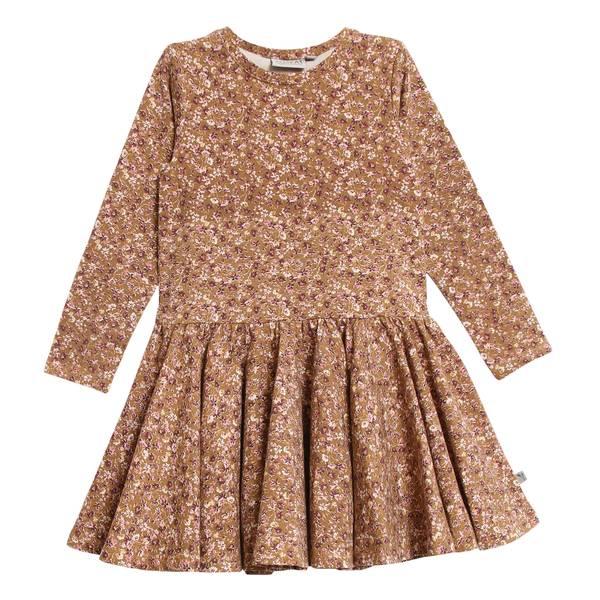 Bilde av Wheat Kristine jersey kjole til barn, caramel