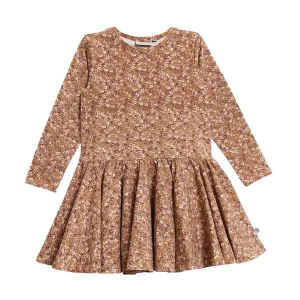 Bilde av Wheat Kristine jersey kjole til baby, caramel