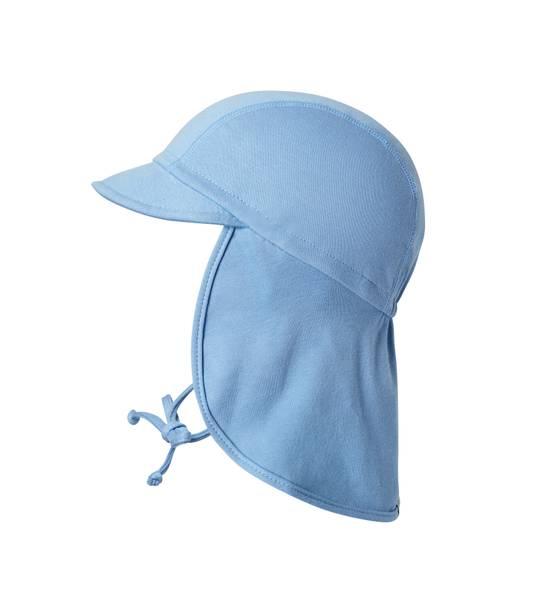 Bilde av MP jersey solhatt m/brem og nakkebeskyttelse, blå