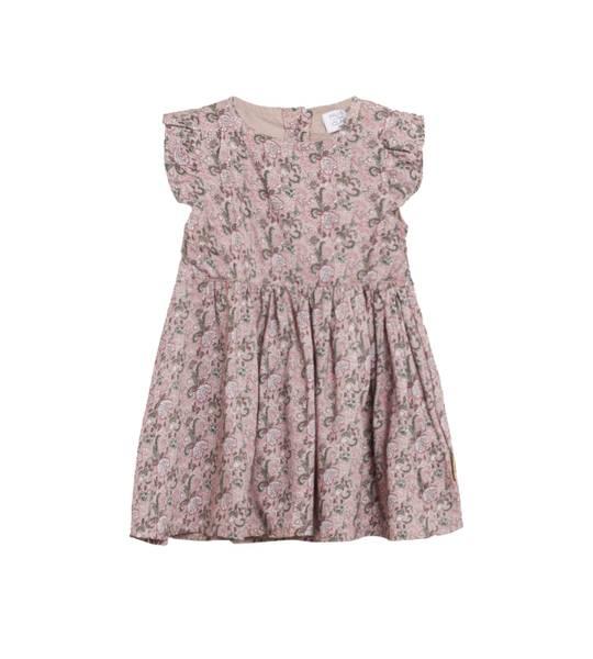 Bilde av Hust & Claire kjole med blomsterprint, violet ice