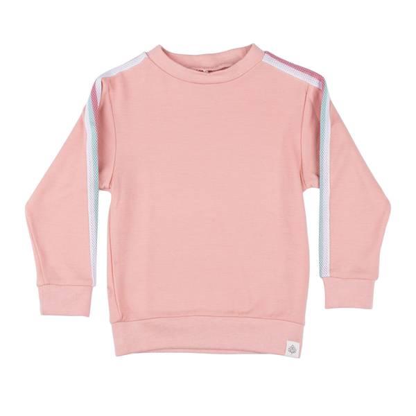 Bilde av Gullkorn Design ull/bambus genser til barn, rosa