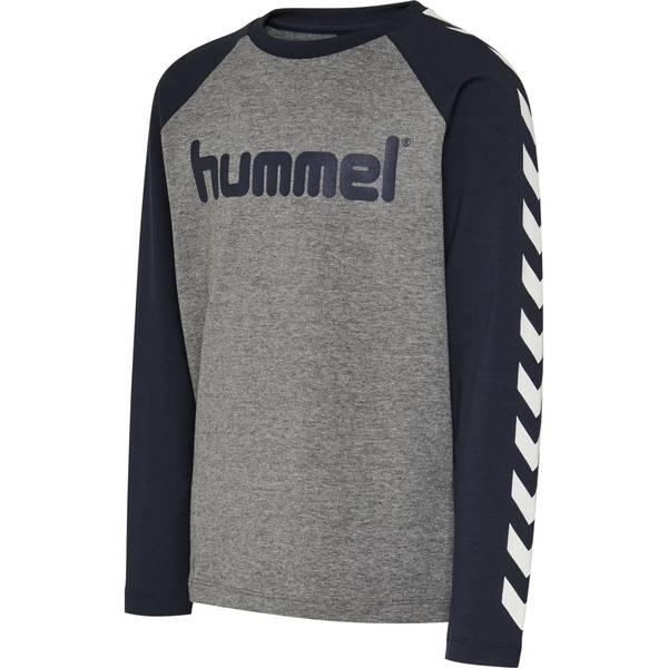 Bilde av Hummel genser til barn, blå og grå