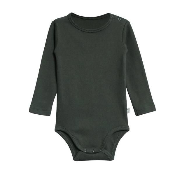 Bilde av Wheat rib body til baby og barn, dark petroleum