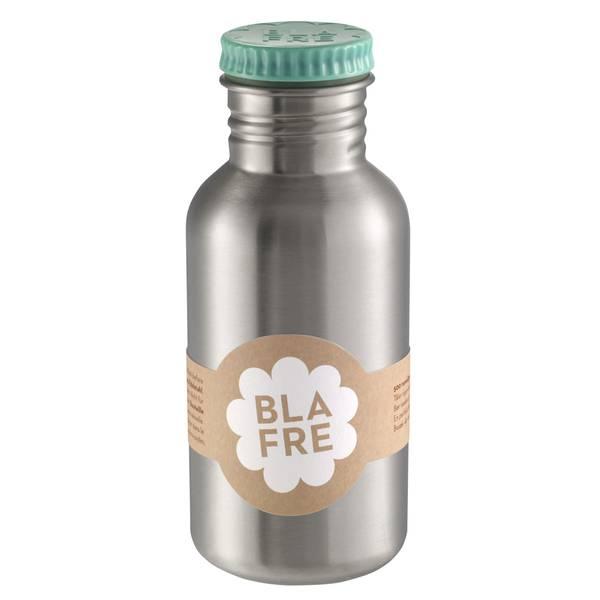 Bilde av Blafre stålflaske til barn 500 ml. blågrønn