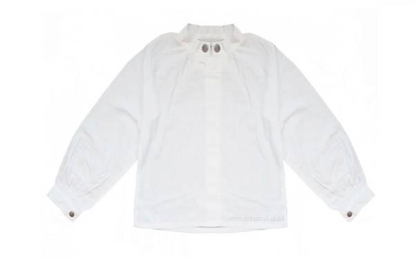 Bilde av Salto bunadsskjorte til gutt, hvit