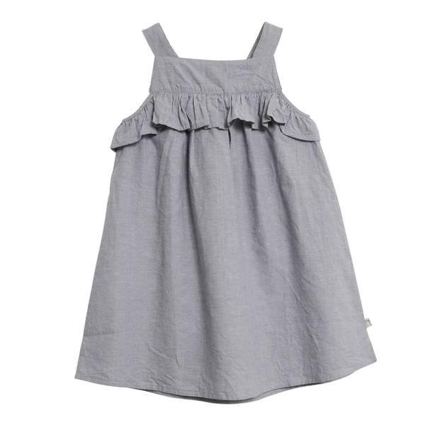 Bilde av Wheat kjole til barn med rysjekant, flintstone