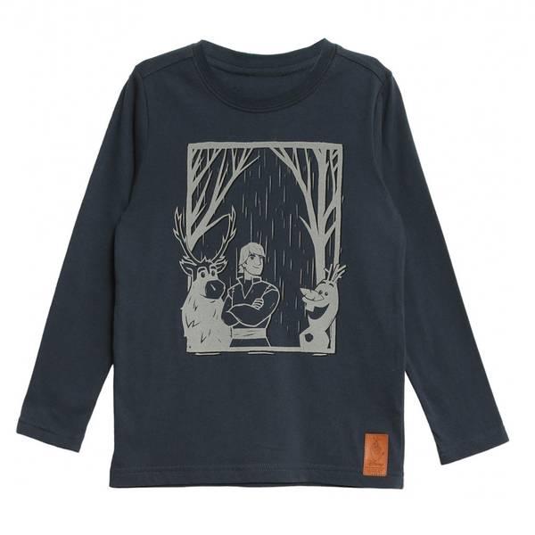 Bilde av Wheat Frozen refleks genser til barn, blå