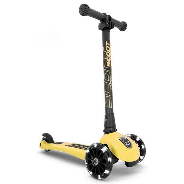 Bilde av Scoot and Ride led sparkesykkel, lemon