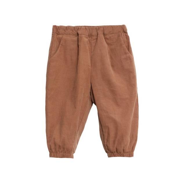Bilde av Wheat kordfløyel bukse til små barn, karamell