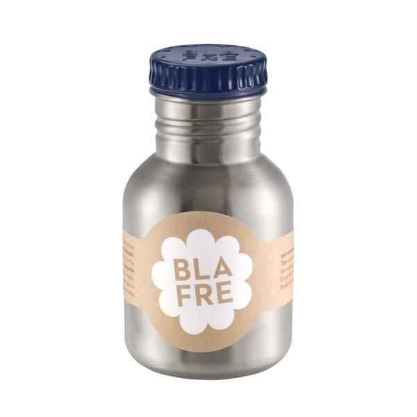 Bilde av Blafre stålflaske til barn 300 ml. marineblå