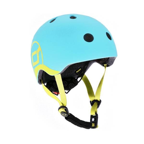 Bilde av Scoot & Ride hjelm 1-4 år, blueberry