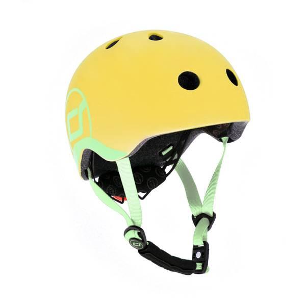 Bilde av Scoot & Ride hjelm 1-4 år, lemon