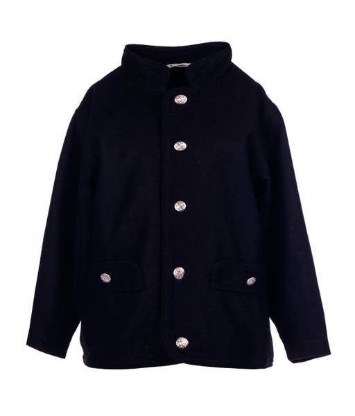 Bilde av Salto bunad / festdrakt jakke til gutt, sort