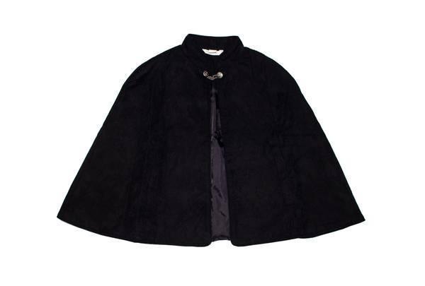 Bilde av Salto bunad / festdrakt cape til jente, sort