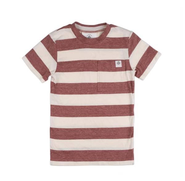 Bilde av Gullkorn Design August t- skjorte med striper,