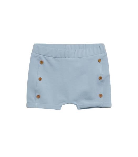 Bilde av Hust & Claire shorts til baby med knapper, Blue