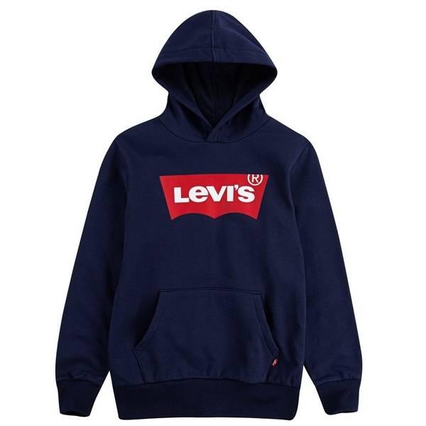 Bilde av Levis batwing hettegenser, Blå