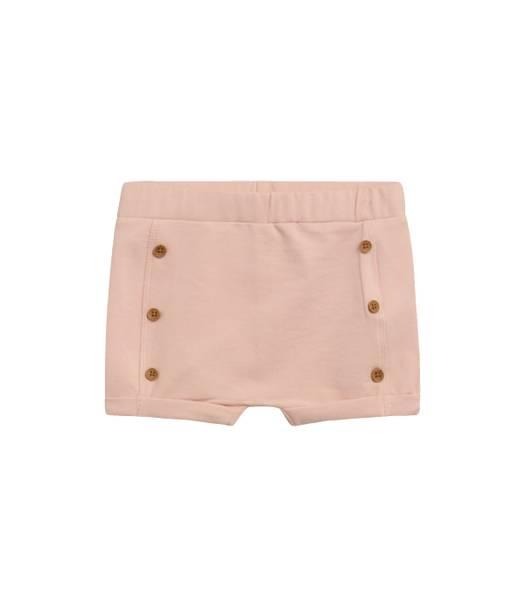 Bilde av Hust & Claire shorts til baby med knapper, rose