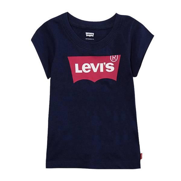 Bilde av Levis batwing t-skjorte til jente, Blå
