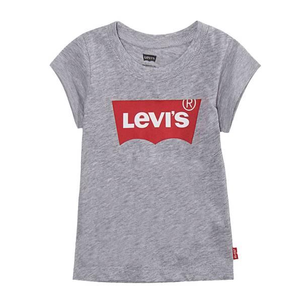 Bilde av Levis batwing t-skjorte til jente, Grå
