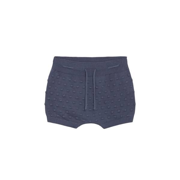 Bilde av Hust & Claire strikket shorts til baby, blue