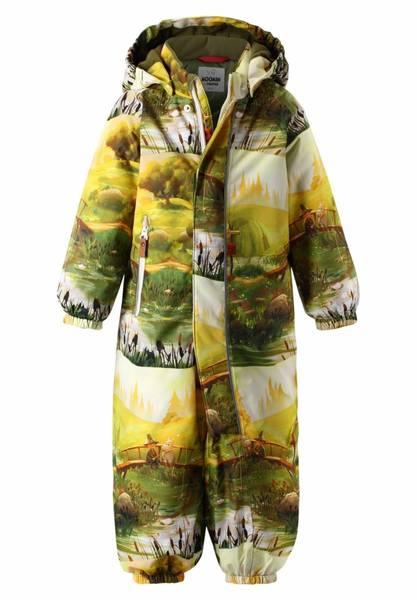 Bilde av Reimatec Mummi vinterdress til baby, Khaki grønn