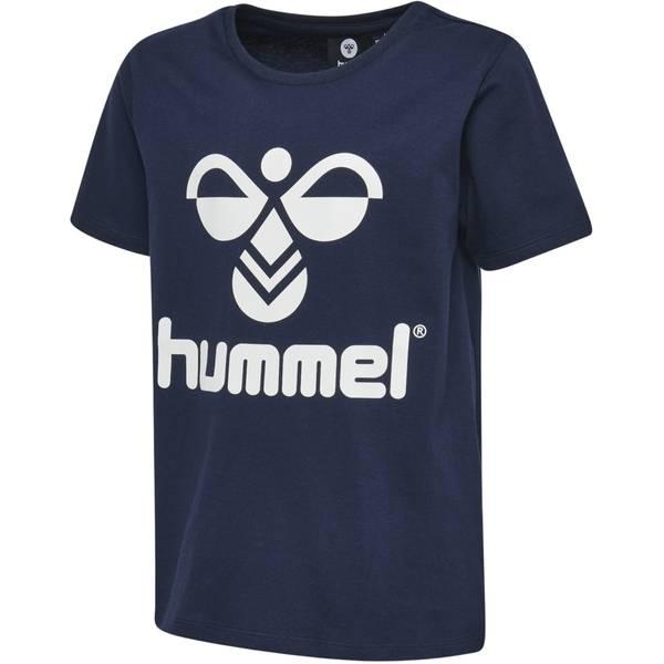 Bilde av Hummel tres t-skjorte til barn, mørk blå