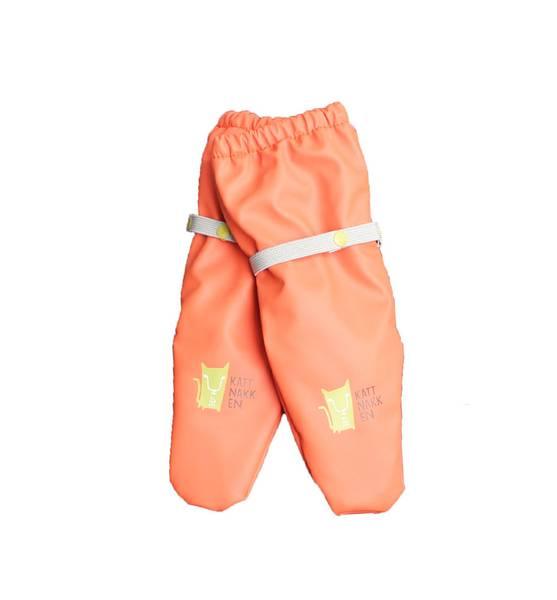 Bilde av Kattnakken regnvotter til barn, orange