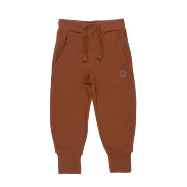 Bilde av Gullkorn Design Villvette bukse til barn, Brun