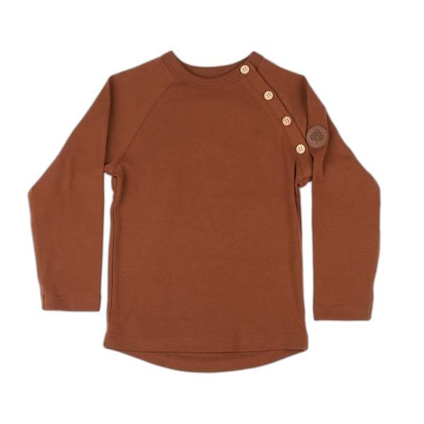Bilde av Gullkorn Design Villvette genser til barn, Brun