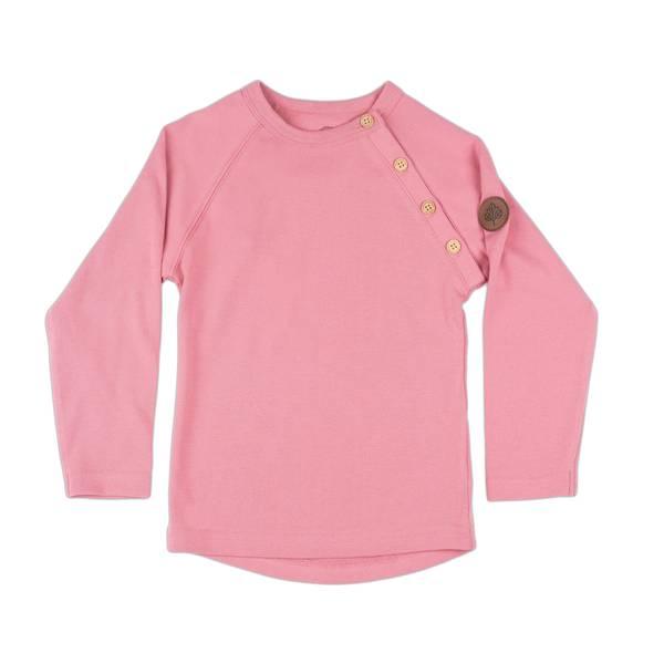 Bilde av Gullkorn Design Villvette genser til barn, Rosa